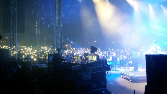 Main stage during Skippinish